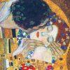 Lenzuola matrimoniali klimt il bacio particolare