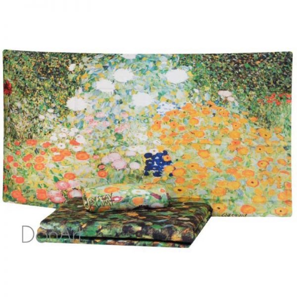 copripiumino matrimoniale klimt giardino in fiore