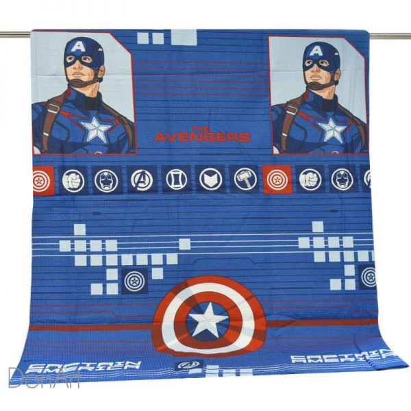 copriletto singolo bassetti captain america disteso