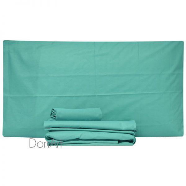 lenzuola per letto rotondo colore tiffany
