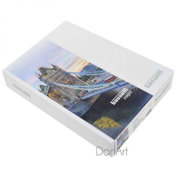 lenzuola matrimoniali bassetti #ukflag scatola