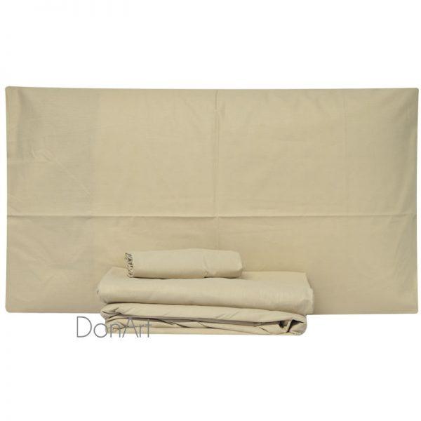 lenzuola per letto rotondo colore corda