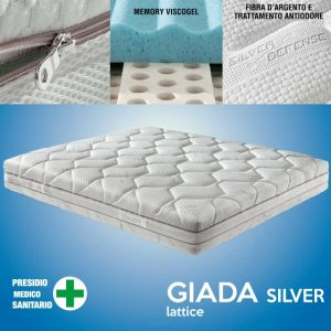 materasso in lattice giada silver