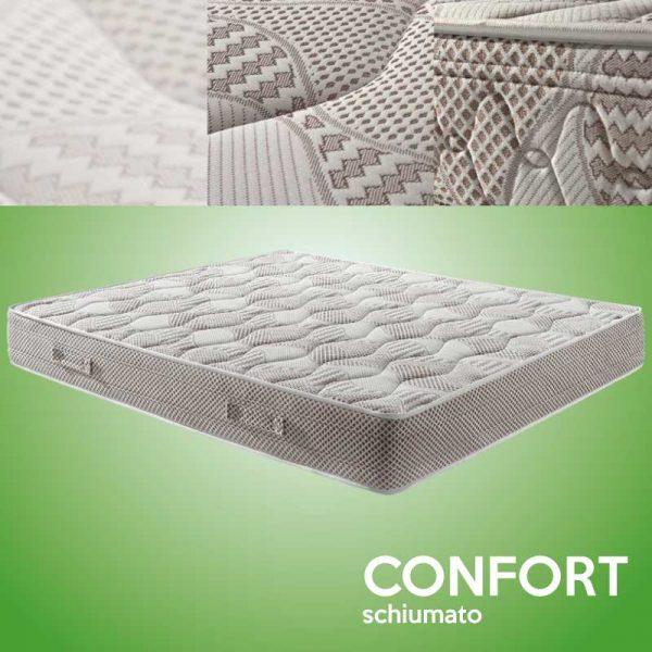 materasso schiumato confort