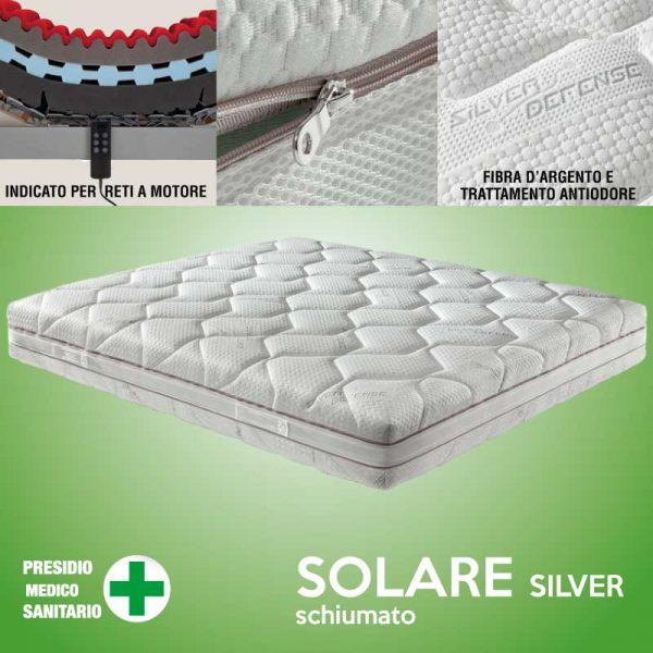 materasso schiumato solare silver