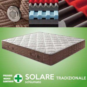 materasso schiumato solare tradizionale