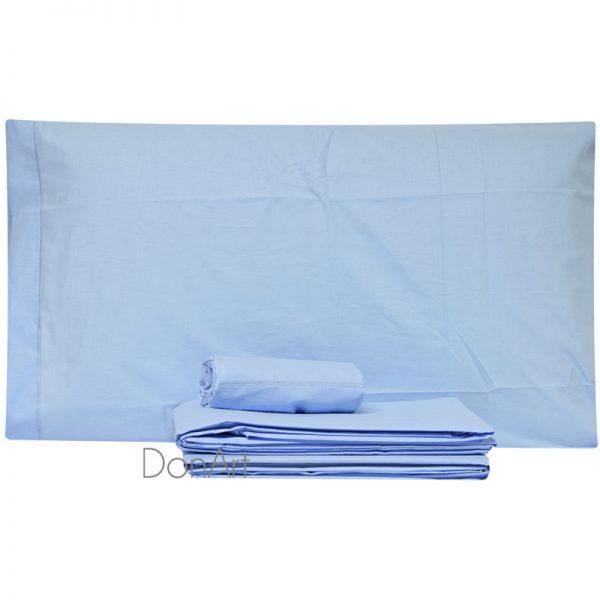 lenzuola matrimoniali aqvila azzurro 68