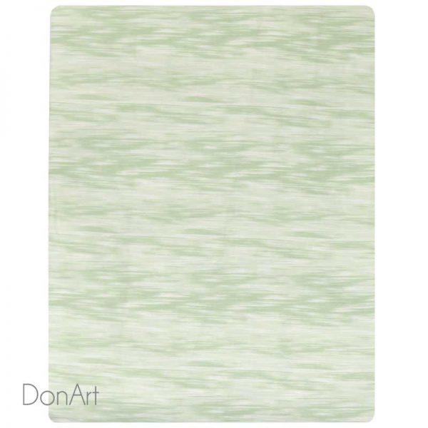 lenzuola singole in flanella acqua verde sotto con angoli