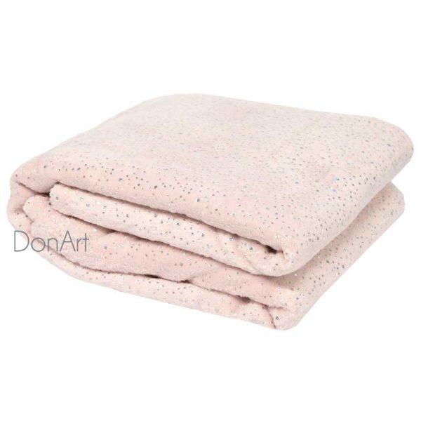 Plaid primiero piegato rosa