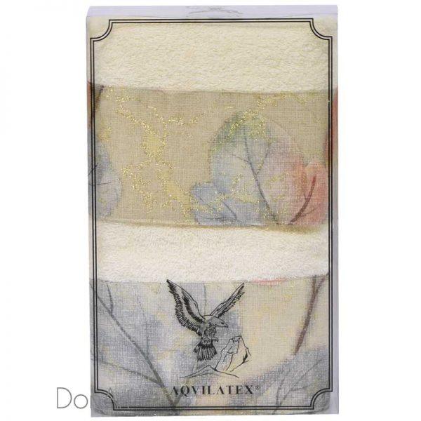 coppia asciugamani lavinia scatola