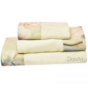 Set asciugamani bagno tre pezzi lavinia