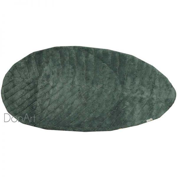 Tappeto foglia verde