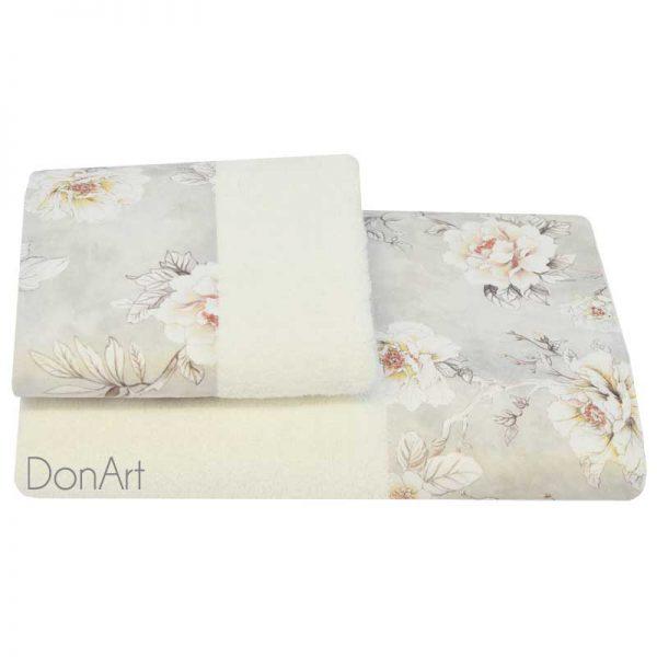 Coppia di asciugamani jolie