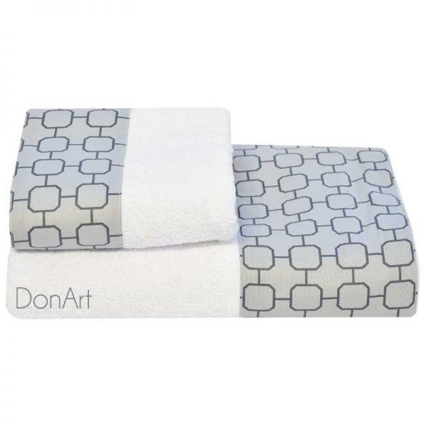 Coppia di asciugamani maya