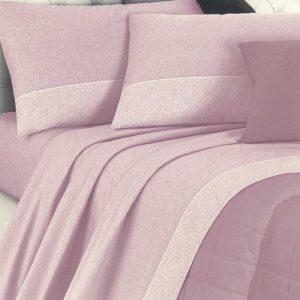 Lenzuola matrimoniali dreams class rosa