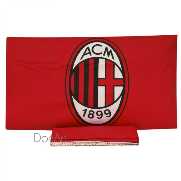 Lenzuola singole A.C. Milan