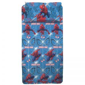 lenzuola singole spider-man ambientato