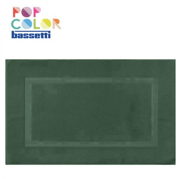Tappeto bagno bassetti pop color colore bosco