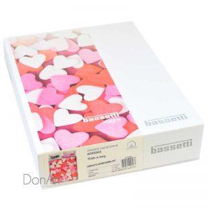 Copripiumino matrimoniale bassetti candies scatola