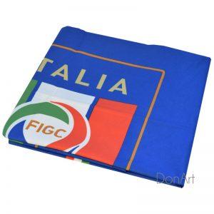 Telo mare microfibra Italia piegato