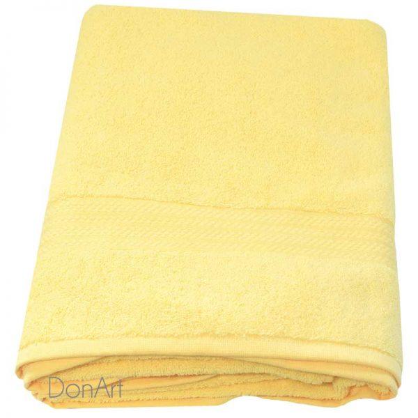 Asciugamano da doccia aqvila giallo