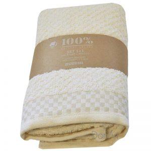 Coppia asciugamani zucchi dama 41