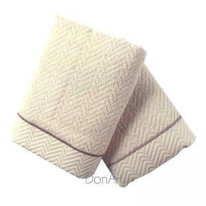 Asciugamani zucchi gemma 4A ambientato